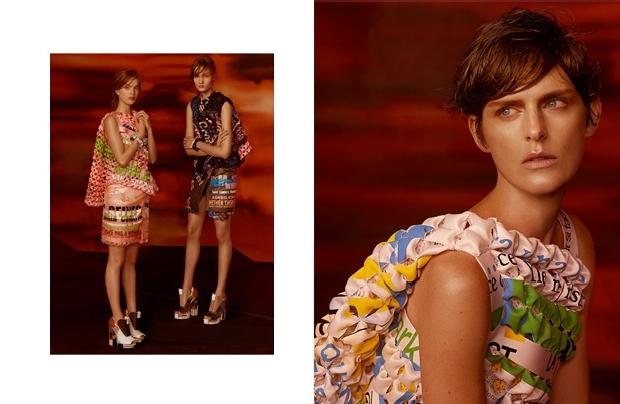 Balenciaga Campaign by Steven Meisel