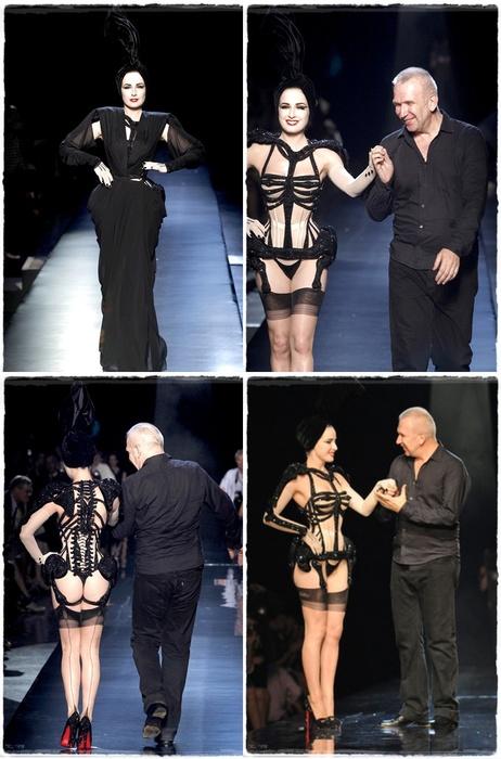 Dita von Teese Gaultier Couture