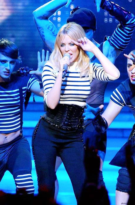 Kylie Minogue Concert Candid