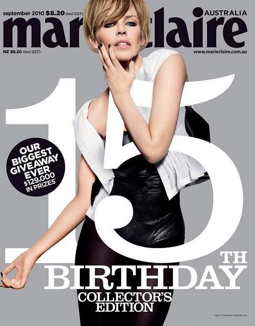 Kylie Minogue for Marie Claire Australia