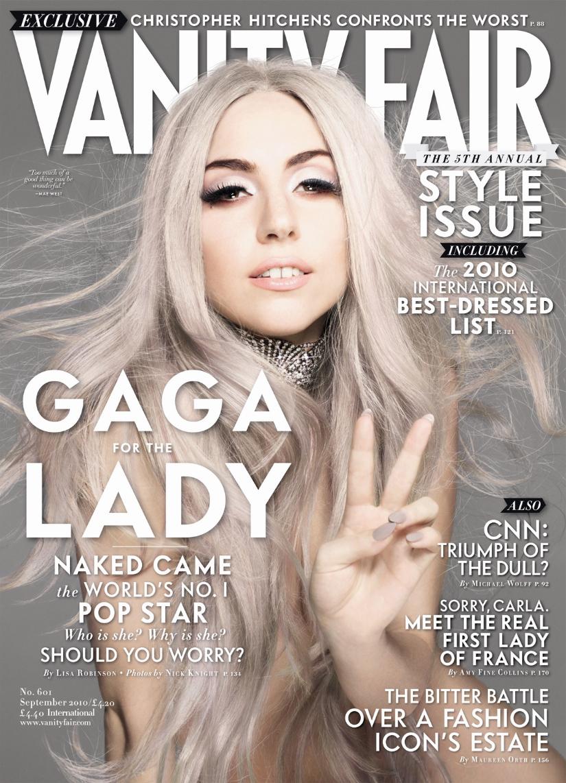 Lady Gaga Vanity Fair September Issue