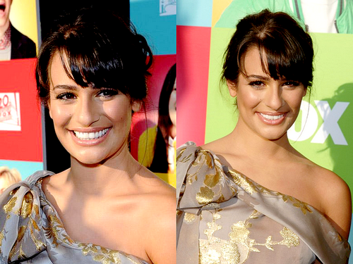 Lea Michele at Glee Academy
