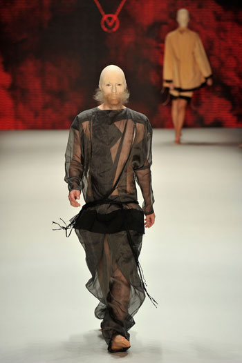 Patrick Mohr Fashion Week With Beards
