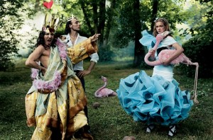 Alice and Wonderland by Grace Coddington