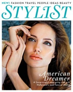 Angelina Jolie for Stylist