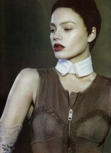 Anna Maria Jagodzinska for Vogue Nippon