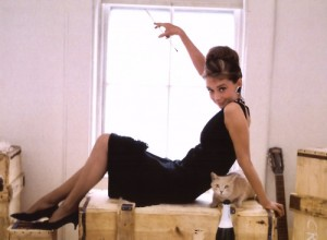 Audrey Hepburn Little Black Dress Breakfast at Tiffanys
