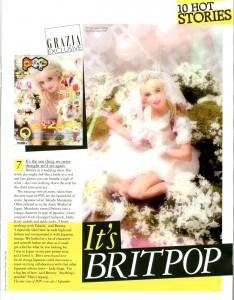 Britney Pop Cover Wedding Dress