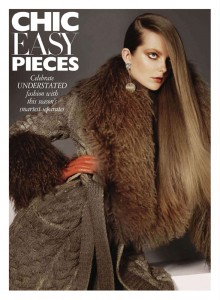 Chic Easy Pieces Harpers Bazaar