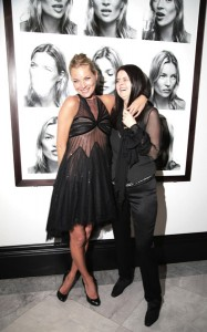 Corinne Day and Kate Moss