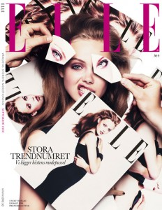Elle Sweden September Cover Stora Trendnumret