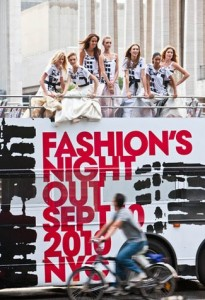Fashions Night Out Supermodel Video