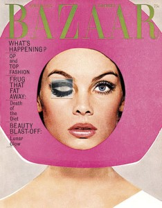Harpers Bazaar US April 1965 Vintage Cover