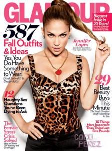 Jennifer Lopez for Glamour September 2010