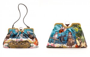 Leitmotiv for Furla Wizard of Oz collection frame satchels