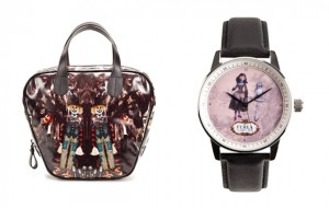 Leitmotiv for Furla Wizard of Oz collection satchel and watch