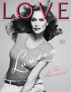 Love Cover Lauren Hutton