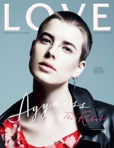 Love Magazine Agyness Deyn Cover