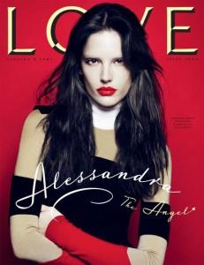 Love Magazine Alessandra Ambrosio Cover