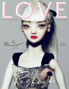 Love Magazine Barbie Cover