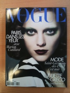 Marion Cotillard Cover Vogue France September Issue