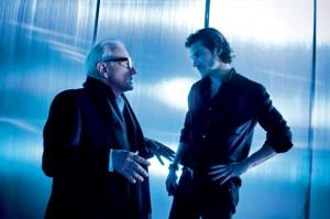 Martin Scorsese and Gaspard Ulliel Blue de Chanel