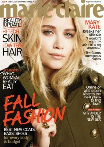 Mary-Kate for Marie Claire September Issue 2010
