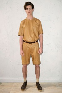 Phillip Lim Leather Shorts