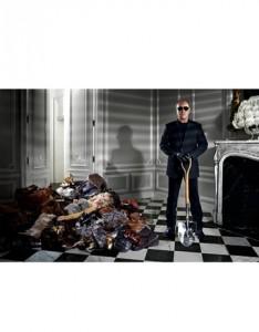 Rachel Zoe dies by Michael Kors in Harper's Bazaar