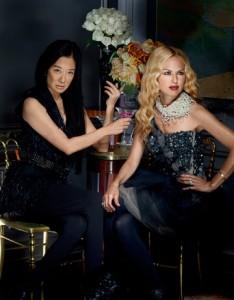 Rachel Zoe dies by Vera Wang in Harper's Bazaar