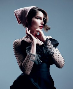 Retrofitted by Willy Vanderperre with Laetitia Casta