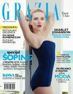 Scarlett Johansson covers Grazia Serbia