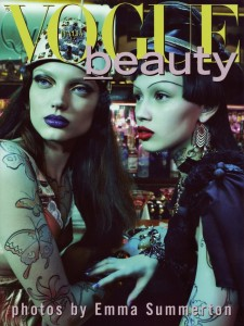 Vogue Beauty Italia August 2010