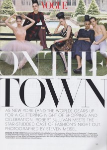 Vogue On The Town