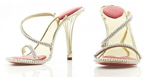 Diamond Shoes by the House of Borgezie