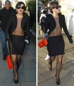 Lily Allen Pregnant Fashion