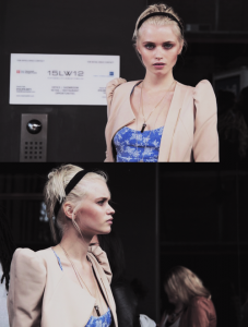 Abbey Lee Kershaw Fashion Week Style Blonde