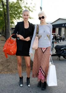 Abbey Lee Kershaw Fashion Week Style Blonde