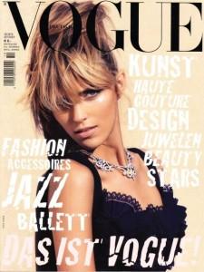 Anja Rubik Covers Vogue Germany