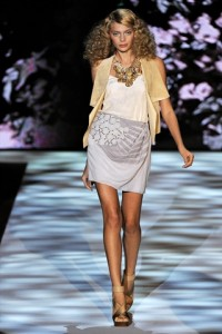 Badgley Mischka Runway NYFW