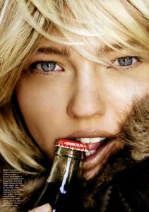 Best of Beauty Allure Sasha Pivovarova Mario Testino