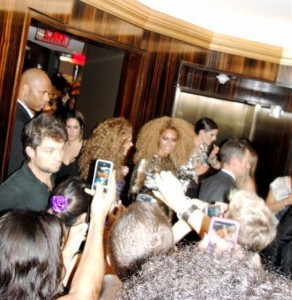 Beyonce at Tom Ford