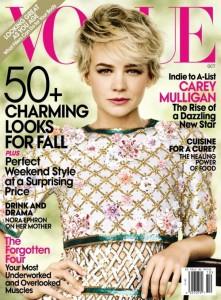 Carey Mulligan October Vogue Cover