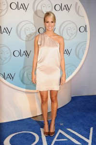 Carrie Underwood The New Face of Olay Webcast