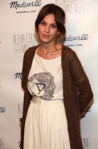 Fashions Night Out Alexa Chung for Madewell Launch Party
