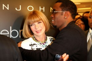 "Fashion's Night Out Anna Wintour and Sean ""P Diddy"" Combs"