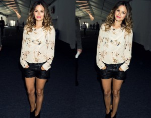 Fashions Night Out Rachel Bilson