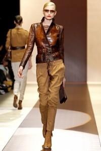 Gucci Runway MFW Abbey Lee Kershaw