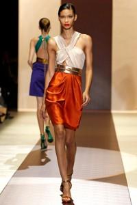 Gucci Runway MFW Chanel Iman