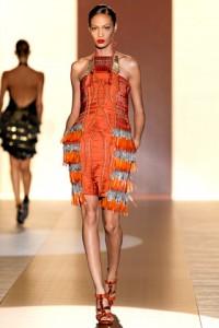 Gucci Runway MFW Joan Smalls